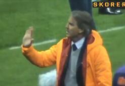 Manciniden taraftara şok hareket