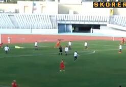 Genç Enesten enfes gol