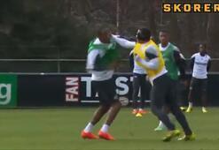 PSV antrenmanında büyük kavga
