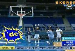 Bu da Kaçar Mıda basket şov