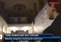 Türk robotları ilgi topladı