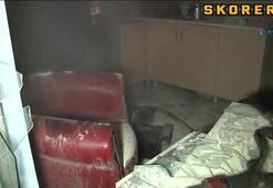 Kayseri Erciyese yangın şoku