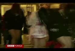 Fuhuş başkentine polis baskını