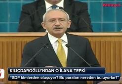 Kılıçdaroğlu o ilanlara ateş püskürdü