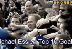 Essienin en güzel 10 golü