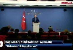 Başbakan Erdoğan, yeni kabineyi açıkladı