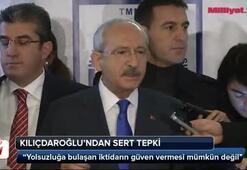 Kemal Kılıçdaroğlundan sert tepki