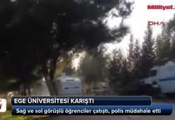 Ege Üniversitesi karıştı