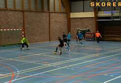 Futsalda diz çöktüren gol