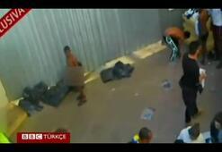 Göçmenlere gözaltı kampında eziyet