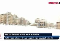 112 yıl sonra ilk kez kar altında