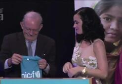 Katy Perry Unicef İyi Niyet Elçisi