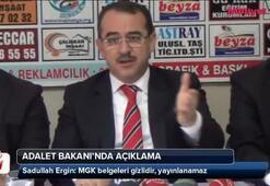 Adalet Bakanından MGK açıklaması
