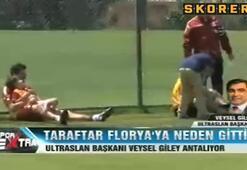 Galatasaray taraftarı Floryaya neden gitti