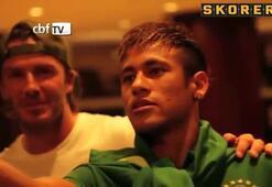Beckham gören masum Neymar