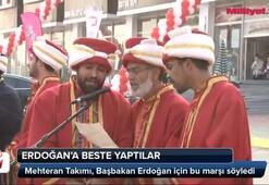 Mehteran Takımı Erdoğana marş yazdı
