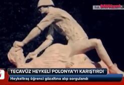 Tecavüz heykeli Polonya'yı karıştırdı