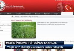 MEBin sitesinde skandal