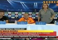 Terim Real Madrid maçı öncesi konuştu| 1.Bölüm...