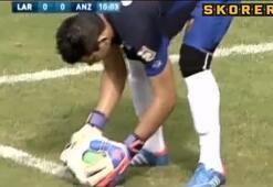 Maç sırasında yüzük attı