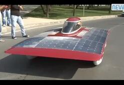 Güneş arabası Arıba 6 yollarda