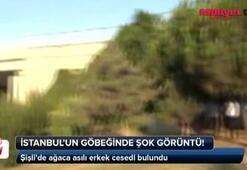 İstanbulun göbeğinde şok görüntü