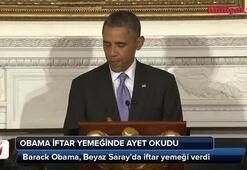 Obama Kurandan ayet okudu