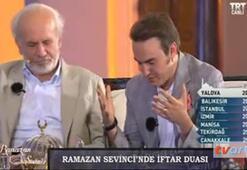 Mustafa Ceceliden iftar duası