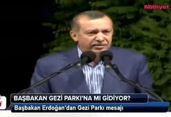 Başbakan Gezi Parkına mı gidiyor
