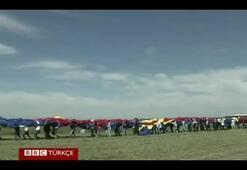 Romanyada rekor kıran bayrak sevgisi