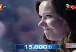 Yarışmacının yüreğini ağzına getirdi