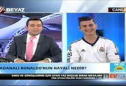 Ronaldo canlı yayında transfer oldu