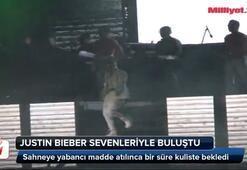 Justin Bieber sevenleriyle buluştu