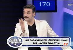 TRTde seyircilere eşek taklidi yaptırdı
