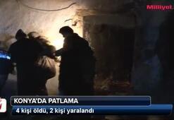 Konyada patlama: 4 ölü, 2 yaralı