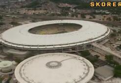 Efsane Maracana stadı yenilendi