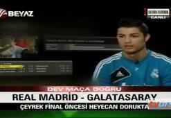 Ronaldodan Galatasaray ve Burak Yılmaz açıklaması