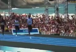 Rioda Usain Bolt fırtınası