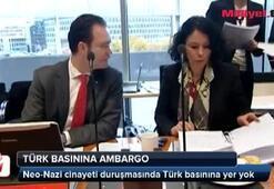 Neo-Nazi duruşmasında Türk basınına ambargo