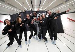 Usain Bolt astronotlarla yarıştı