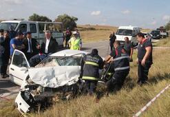 Kırklarelinde trafik kazası: 4 ölü