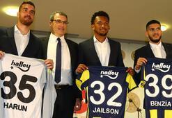Fenerbahçede Harun, Jailson ve Benzia imza attı