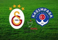 Galatasaray, lider Kasımpaşayı ağırlıyor