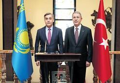 Akar, Ermekbayev ile görüştü
