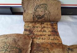 Hakkaride 17 parça tarihi deri İncil ele geçirildi