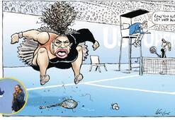 Serena karikatürüne ırkçılık suçlaması