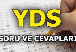 ÖSYM açıkladı: İşte YDS soru ve cevapları 2018 Sonbahar Yabancı Dil Sınavı