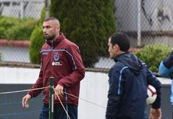 Trabzonsporda Burak Yılmaz çalışmalara başladı
