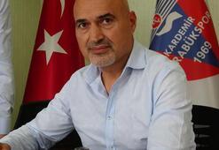 Karabüksporun yeni teknik direktörü Levent Açıkgöz oldu