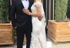 Mert Fırat ile İdil Fırat evlendi İşte düğünden ilk görüntüler...